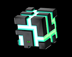 Time Cube 3D model