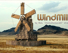 other Old Windmill House 3D