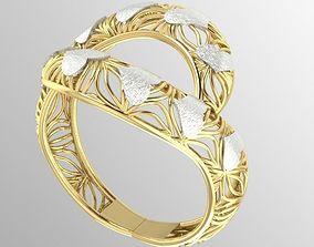 3D print model fancy woman ring