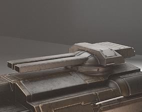 3D model Tank Cannon