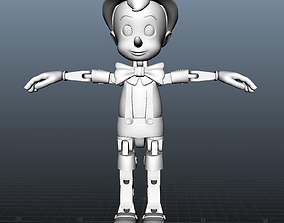3D print model Pinocchio Articulated