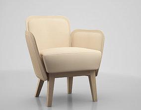 3D JULIUS Armchair GARSNAS by FARG BLANCHE