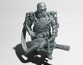 Heavy Soldier in 28 -32 mm scale 3D printable model