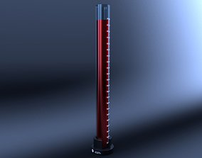 Beaker 3D asset game-ready