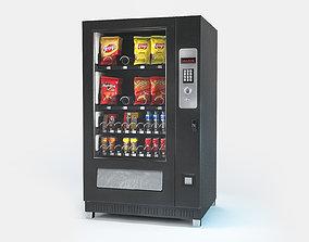 realtime Vending machine Low-poly 3D model
