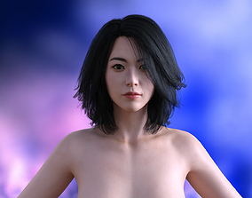MINEY CHEAP NEW FEMALE ASIAN MODEL 3D