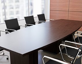 Zira Laminate Conference Boardroom Table-chairs not 3D