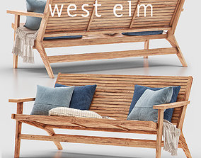 Acadia Outdoor Sofa 3D
