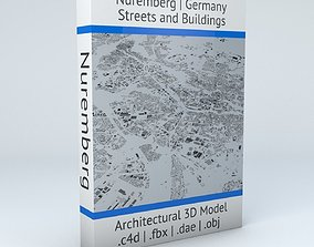 3D model Nuremberg Streets and Buildings