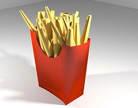 3D Fastfood - French Fries