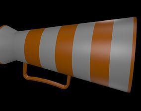3D model Low poly speaker