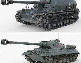 Tank Collection Vray 001 3D model