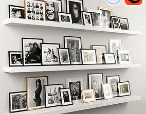 Photo wall 02 3D