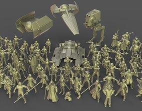 3D printable model Star Wars Legion miniatures MEGAPACK
