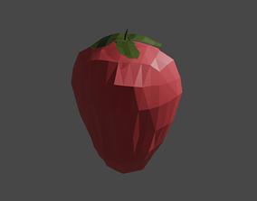 3D model Strawberry Fruit