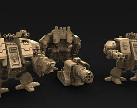 Strong Front Line Robotic 3D print model