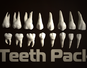 3D model Teeth Pack