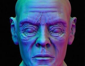 3D model Male Human Head