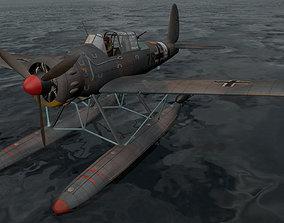 Arado Ar-196A-3 3D model