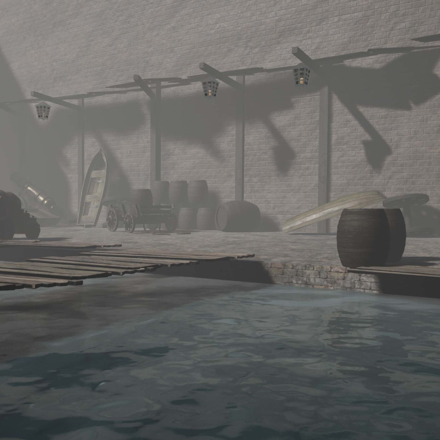 Old harbour. WIP