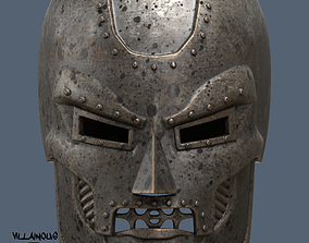 Dr Doom Mask or Helmet 3D printable model doom