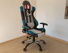 Gamer Chair 3D asset