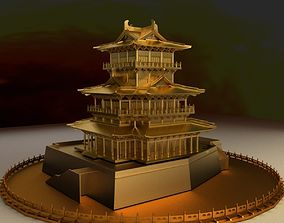 building 3D Chinese Ancient House