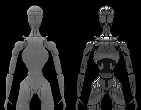 Terminatrix T3 robot 3D printable model