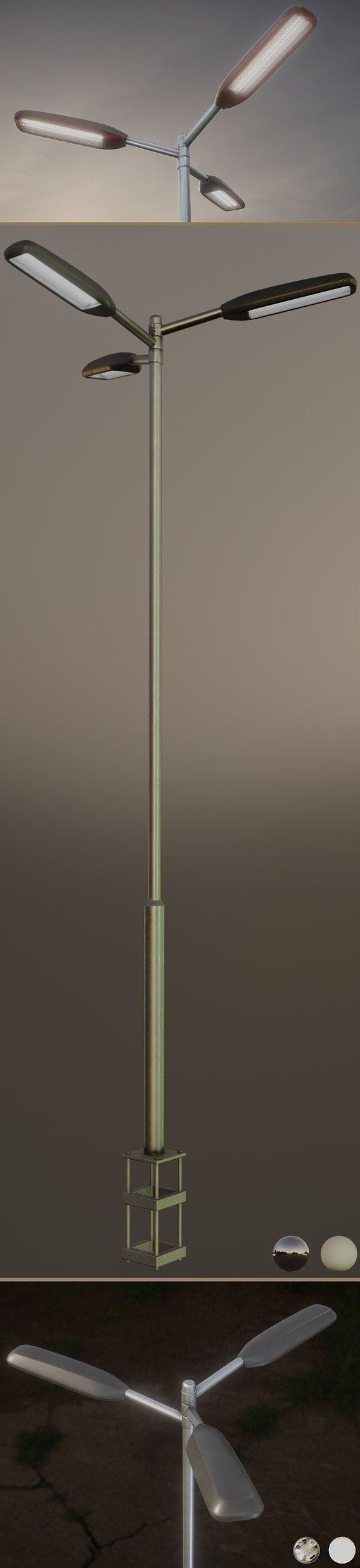 Street-Light 11 Pole-2 Version-5