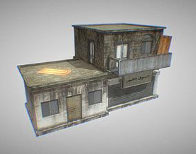 Building 2 3D model VR / AR ready