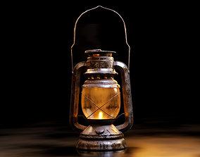 3D model Old oil lantern-Lantern