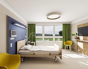 3D model Hospital Room UE4