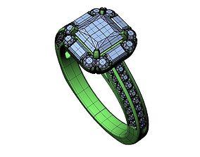 Engagement ring -294 3D print model