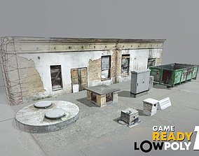 3D asset Game Ready Lowpoly Pack 1