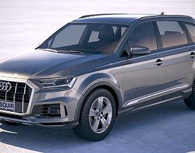 3D model Audi Q7 Basic 2020