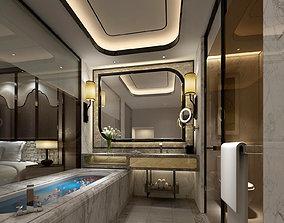 hotel bathroom 3D model