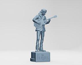 3D print model JOHN LENNON - THE BEATLES - ROOFTOP