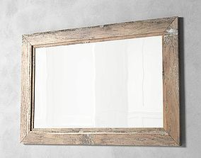 3D Mirror Wooden Frame
