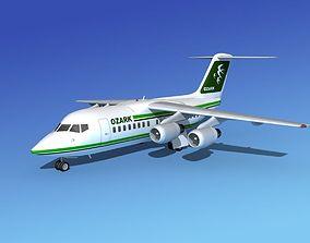 BAe 146-100 Ozark Airlines 3D model