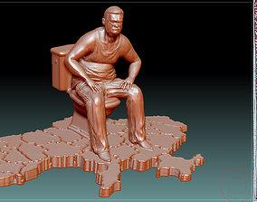 3D printable model Monument to corruption stl