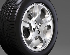Dacia Logan wheel 2016 3D