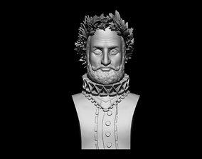 Luis Vaz De Camoes 3D print model