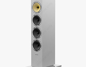3D model Bowers and Wilkins CM 10 Satin White