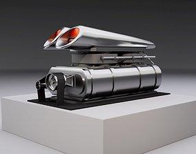 3D asset Supercharger type C