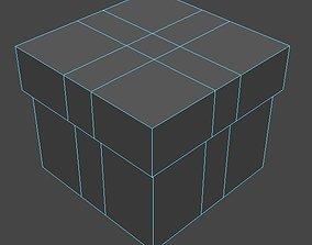Box - Gift Box 01 3D model