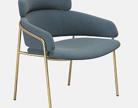 3D model Debi Strike Lounge armchair f35