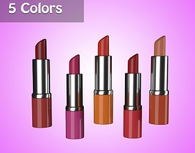 3D model Lipsticks 5 Colors