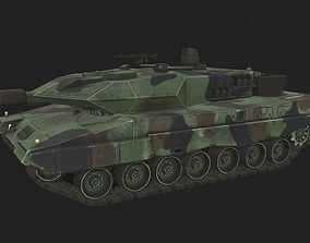 3D asset Tank Leopard 2A5