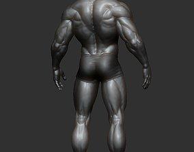 Male model 3D print man