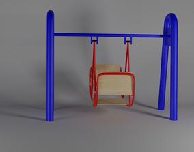 3D CIS double swing playground
